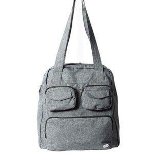 Lug Puddle Jumper Overnight/Gym Duffel Bag, Grey